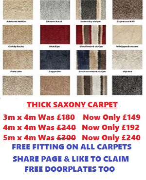 saxony special carpets