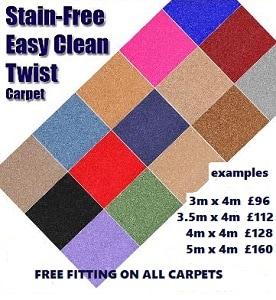 twist pile carpet deals in stoke