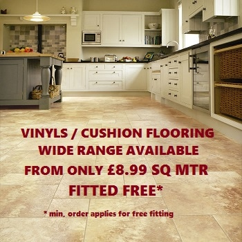 vinyls and cushion flooring